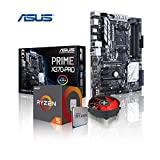 Memory PC Aufrüst-Kit AMD Ryzen 5 1600 AM4 (SixCore) Summit Ridge 6x 3.2 GHz, 0 GB DDR4 2133Mhz, ASUS PRIME X370-PRO mit Aura Sync/Beleuchtung, USB 3.1 Typ C, SATA3, 7.1 Sound, M.2 Sockel, GigabitLan, MultimediaKIT, komplett fertig montiert und getestet.