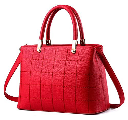 Personalizzata Motorcycle Bag In Pelle Signora PU Red