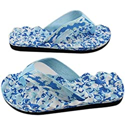 Culater Chanclas Mujer de verano Zapatos Sandalias Zapatilla (40, Azul)