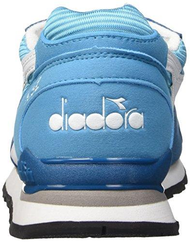 Diadora N-92, Scarpe Low-Top Unisex Adulto Multicolore (C6132 Azzurro Atollo/Blu Divino)