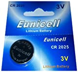 Eunicell Branded 1 x CR2025 3 V Lithium Coin Cell Sales Eunicell Germany