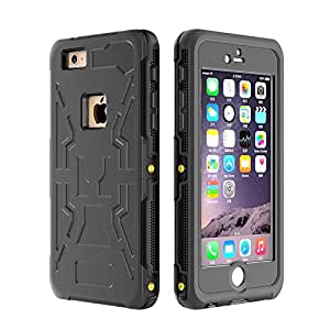 Generic White, For iPhone 6 Plus : Hot Sell Waterproof Case For iPhone 6 & 6 Plus Cover Fingerprint Waterproof Swim Diving Phone Case