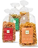 Clever Pasta 4er Probierpaket: Bärlauch-, Chili-, Kurkuma- & Kichererbsenudeln