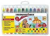 Eberhard Faber 529112 - Mini Kids Club, 12 Gelmalstifte im Kunststoffetui