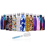 U-Max 500ML Stainless Steel Water Bottle Vacuum Insulated Drink Flask Double-Walled Wave Thermal