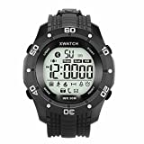 #5: OPTA SW-018 Black Bluetooth Smart Band with low power consumption(no need to recharge battery for a year)Outdoor Sport Fitness Watch Bluetooth IP68 Waterproof Pedometer Running Smart Watch With facebook and whatsapp notifications and alarm reminders Android and IOS compatible with Samsung IPhone HTC Intex Vivo Mi One Plus and many others! Launch Offer!!