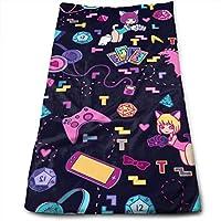 Soft 31x51 Towel with Unique Design Walnut Cake Strandt/ücher Handt/ücher Zebras Beach TowelLarge Beach Towel