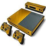 Microsoft XBOX ONE Skin Design Foils Aufkleber Schutzfolie Set - Gold Motiv