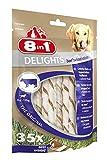 8in1 Delights Beef Twisted Sticks (gesunder Kausnack für sensible Hunde, hochwertiges gedrehtes Rindfleisch), 35 Stück (190 g Beutel) - 2