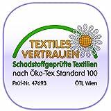 Träumeland T041007 Seitenlagerungskissen Design 9 mit geräuscharmer EPS-Perlenfüllung, Bezug 100% Baumwolle, weiß/rosa -