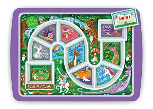 Fred dîner Winner Kids 'Plateau La forêt enchantée (Enchanted Forest) 30 x 21.2 x 2 cm Multicolore