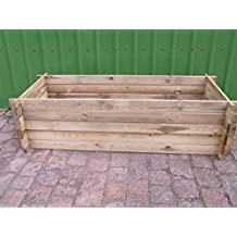 Compostador estable de madera, jardinera, ...