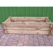 Compostador estable de madera, jardinera, ...