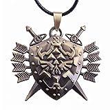 KeySmart The Legend of Zelda Halskette mit Hylia-Schild Anhänger