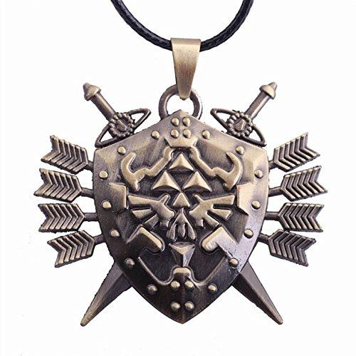 KeySmart The Legend of Zelda Halskette mit Hylia-Schild Anhänger -