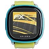 atFoliX Schutzfolie für XPlora Kids Displayschutzfolie - 3 x FX-Antireflex blendfreie Folie - vollflächiger Schutz bis Zum Rand