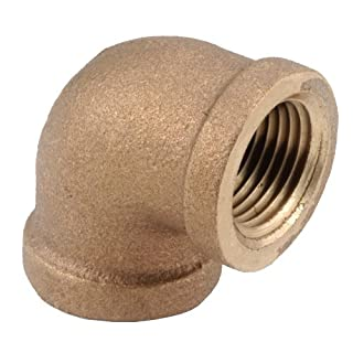 Anderson Metals Corp Inc 738100-16 90 Red Brass Threaded Elbow
