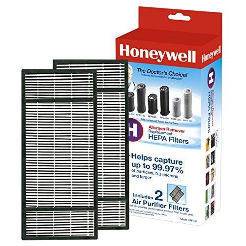 Honeywell True HEPA Air Purifier Replacement Filter 2 Pack, HRF-H2/Filter (H)