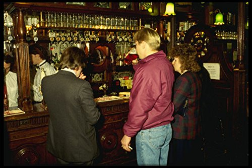 635005 People Inside A Pub London England A4 Photo Poster Print 10x8