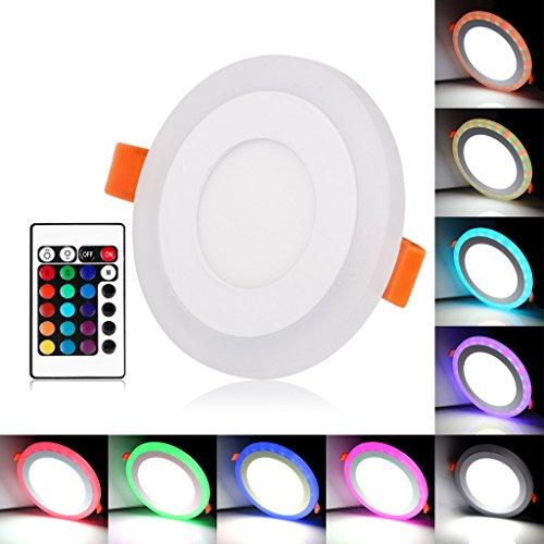 bloomwin-spot-encastrable-led-bicolore-led-plafond-3-modes-declairage-6w-downlight-plafonnier-rgb-bl