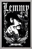 Close Up Motörhead Poster Lemmy 1945-2015 (66x96,5 cm) gerahmt in: Rahmen Silber