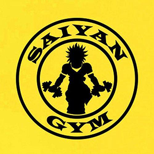 TEXLAB - Saiyan Gym - Damen T-Shirt Dunkelblau