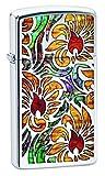 Best BIC Lighter Fluids - Zippo Unisex's Fusion Floral Design Windproof Lighter, High Review