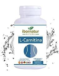 L-Carnitina capsulas - quema Grasas para bajar de Peso rapido | Potente Adelgazante para