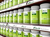 Vitamin D3 Vegan 1,000 IU | 120 Softgels - 4 Month's Supply | Allergen & GMO Free Vitamin D Supplement with Extra Virgin Olive Oil | Made in The UK by Nu U Nutrition