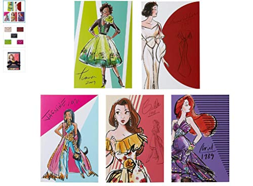 Disney Princess Notizkartenset - Disney Designer Collection (Princess Disney Designer)