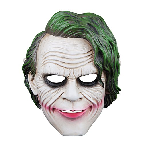 Mann Maskierter Kostüme (GEXING Halloween-Masken Männer Damen Horror-Masken Geistertanzmasken Maskierte Walhallamasken Kindermasken)
