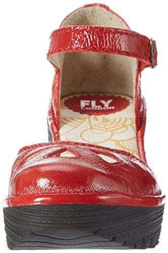 Fly London  Yuna, Escarpins femme Rouge (Red 131)