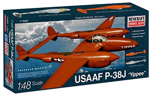 minicraft-plastic-airplane-model-kit-lockheed-martin-usaaf-p-38j-yippee-by-minicraft-models