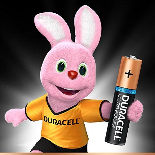 Duracell Ultra Power Alkaline AAA Batterien, 16er Pack, Verpackung kann variieren