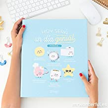 Mr Wonderful AS8435460715669 - Carpeta archivadora con diseño Hoy será un ...