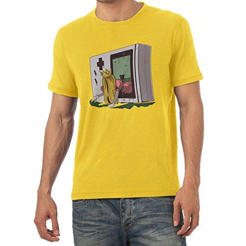 TEXLAB - The Princess - Herren T-Shirt Gelb