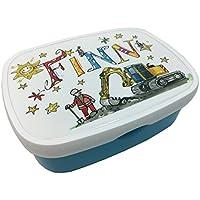 Brotdose mit Namen, Bagger, personalisierte Lunchbox, Rosirosinchen, Rosti Mepal