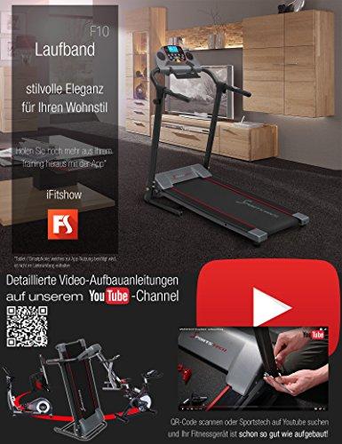 Sportstech F10 Laufband - 7