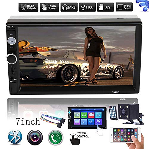 Romsion HD 7 doppeltes 2Din Bluetooth Autoradio FM / MP5 Player Touchscreen In-Dash Asf Video Converter