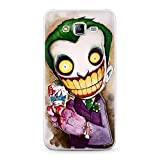coque souple galaxy J3 2016 Joker 2 Bd Comics Cartoon Smile Heros Geek Retro