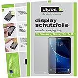 dipos I 2X Schutzfolie matt passend für Samsung Galaxy Tab A 10.1 (2016) Folie Bildschirmschutzfolie