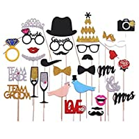 Veewon New Fashion Wedding Photo Booth Props Decorations PhotoBooth props Valentine