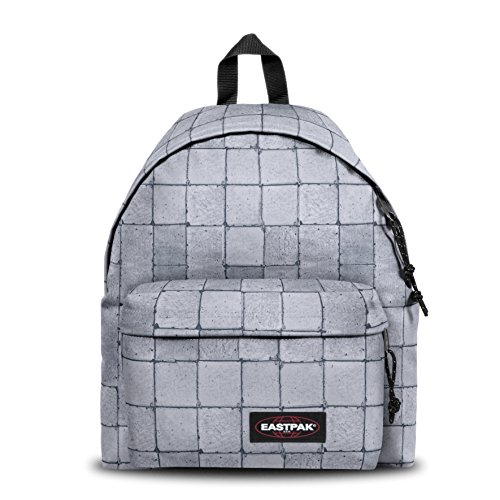 Eastpak Padded Pak'R Sac à  dos, 40 cm, 24 L, Gris (Cracked White)