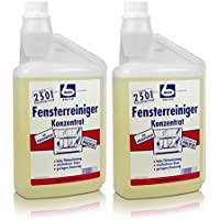 Becher - 2x contenitori di concentrato di detergente per vetri,