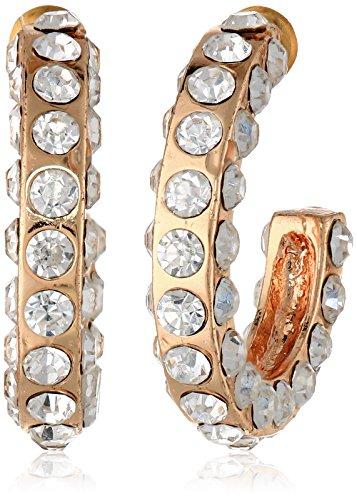 t-tahari-essentials-pave-flat-edge-rose-hoop-earrings