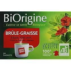 VITARMONYL Biorigine Tisane Brûle Graisse 20 Infusions