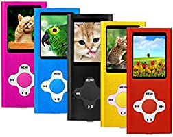 "ES Traders® 8GB MP3 Player Internal Memory 4th Generation MP3 Music, Video, Games Player With 1.8"" Video Screen (Red)"
