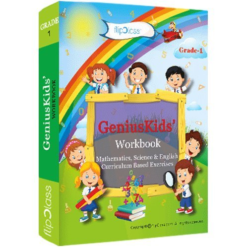 Genius-Kids-Worksheets-Bundle-for-Class-1-Grade-1-Set-of-6-Workbooks-English-Mathematics-and-Science