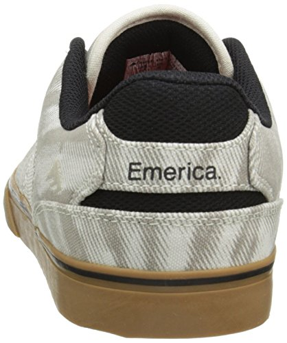 Emerica - The Reynolds Low Vulc, Chaussures Skate Pour Homme Marron (tan / Gum)