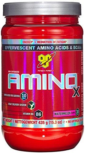 BSN Amino X (BCAA Pulver), Wassermelone (1 x 435g)